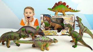 ДИНОЗАВРЫ ДЛЯ ДЕТЕЙ - Тиранозавр РЕКС Игрушка на радиоуправлении - Даник и Игрушки для мальчиков