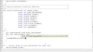 Hacer indicador para obtener los valores de su indicador para MultiCrossAlert o CrossAlert