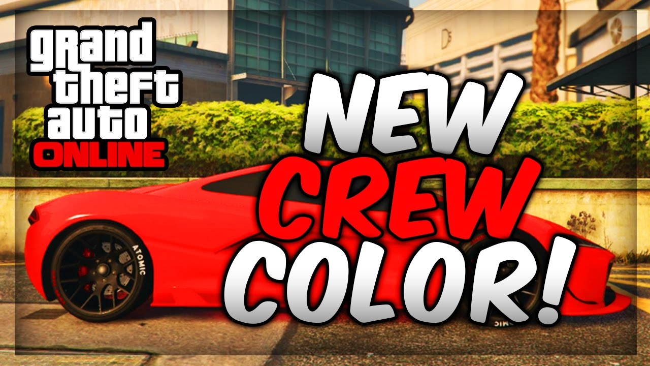 Color on online - Gta 5 Online Paint Jobs Best Rare Modded Crew Colors 18 Neon Red Youtube