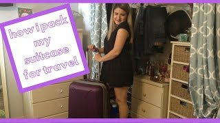 An Over Packers Guide to Packing a Suit Case // Camsglam