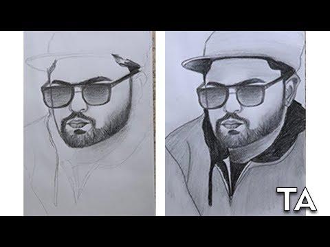 ali-zar-sketch- -portrait- -tuba-arts