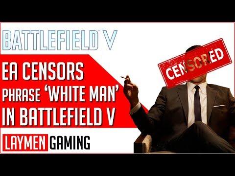 EA Censored The Phrase 'White Man' In Battlefield V Chat
