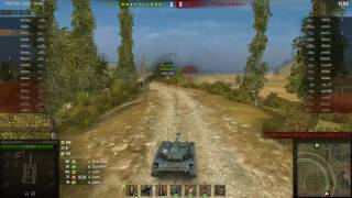 8 kills! WOT AMX ELC bis How to shoot on the move and be accurate with your shots!