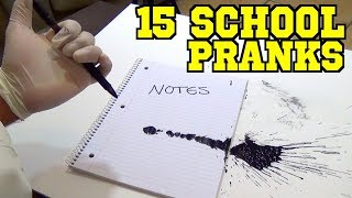 15 April Fools Day Pranks You Can Do At School - HOW TO PRANK | Nextraker