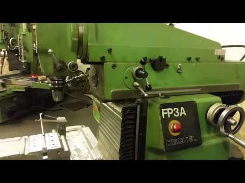universal-werkzeug-fräsmaschine-deckel-fp3a-cnc-2101+zubehör+unterlagen