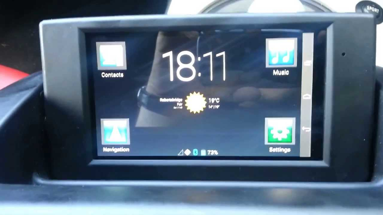 BMW X3 M >> BMW Z4 E85 E86 Android tablet integration - YouTube
