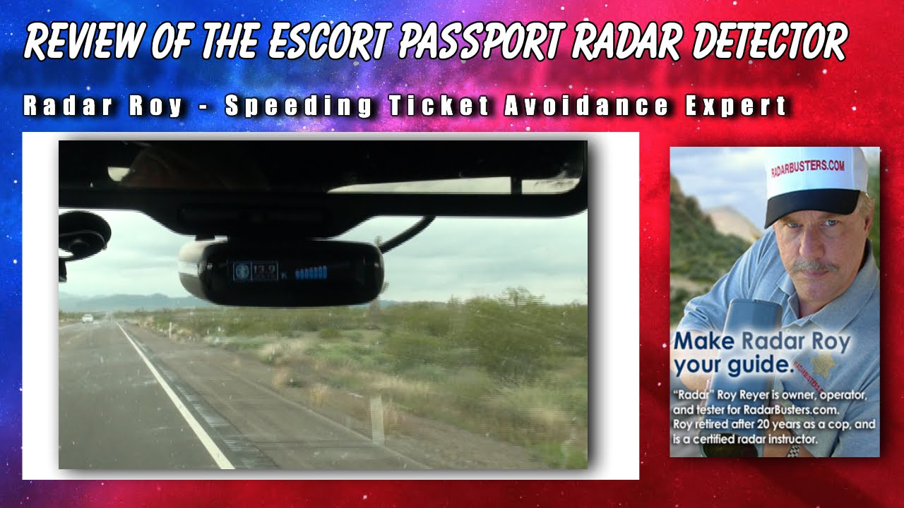 The Escort Review >> Escort Passport Radar Detector Review Radar Roy