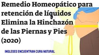 De tobillo hinchado remedio homeopático