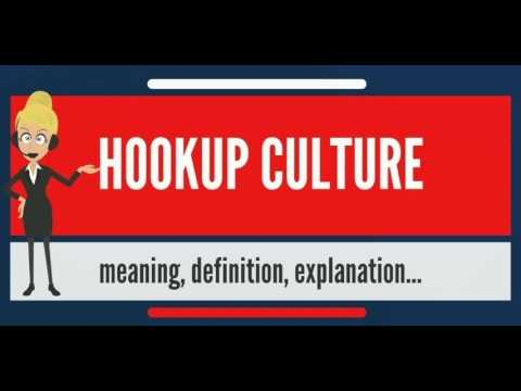 What is the definition of a hookup relationship