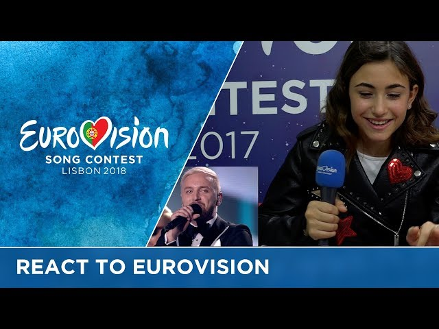 Junior Eurovision reacts to the Eurovision Song Contest