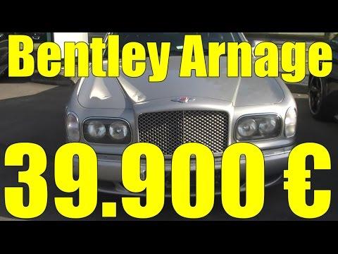 Almanyada Ikinci El Araba Fiyatlari Bentley Arnage Silver 002