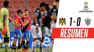 TRIUNFAZO DE LOS ROJOS DE SANTA LAURA | U. Española 1-0 Independiente del Valle | RESUMEN