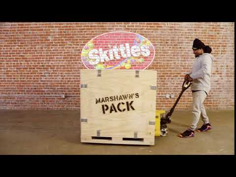 Skittles | Marshawn Lynch Sharing His Very Own Skittles Pack With Fans