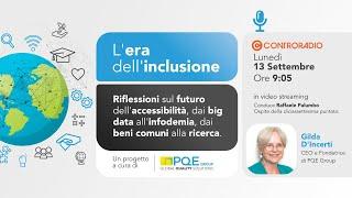 L'era dell'inclusione – Puntata 17 – 13 settembre 2021