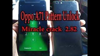 Oppo A71 Pattern Unlock Miracle Box