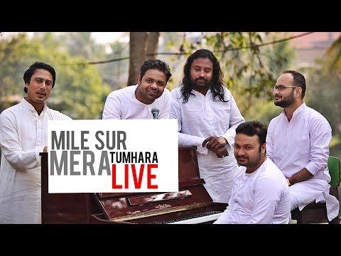 Mile Sur Mera Tumhara live- Sourendro Soumyojit
