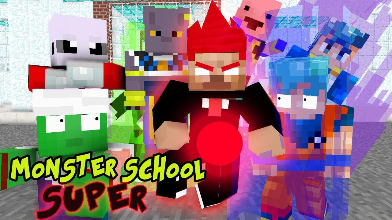 Monster School : Dragon Ball Z Transformation - Best Minecraft Animation