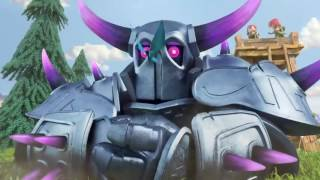 Clash of clans P E K K A Animated T V trailer 720p