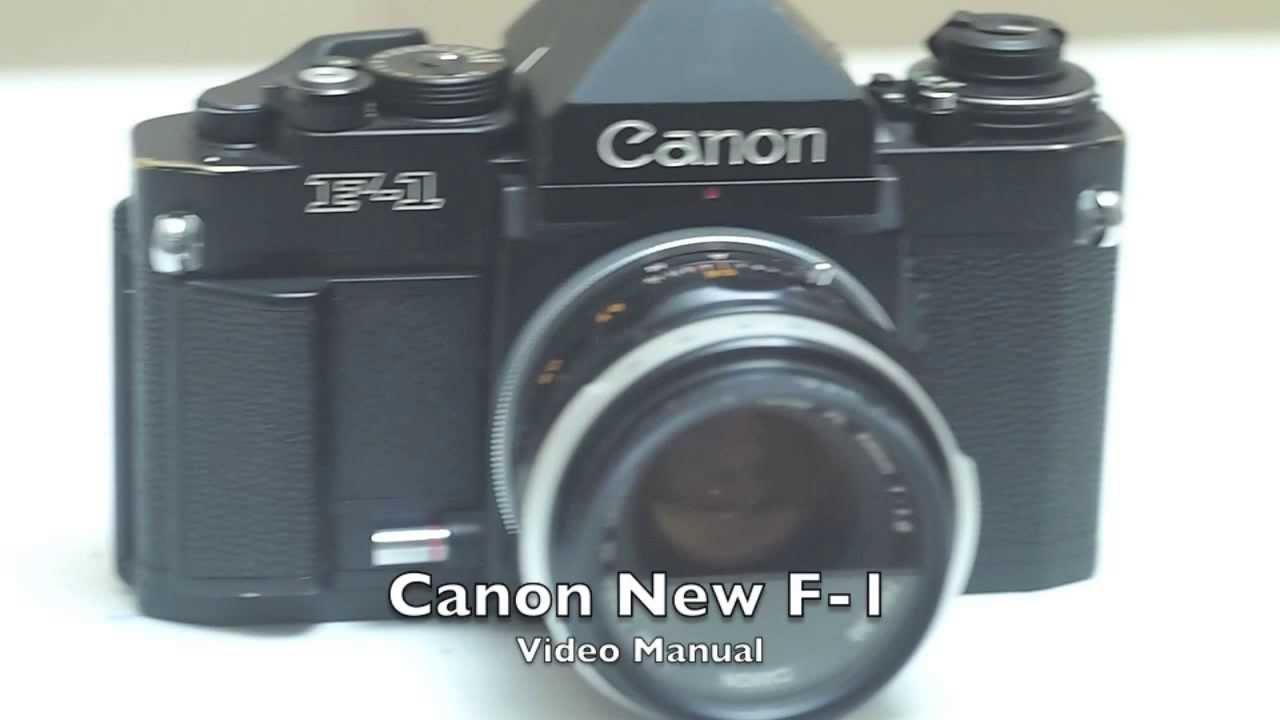 canon new f 1 video manual youtube rh youtube com canon f1n manual pdf canon f1n instruction manual