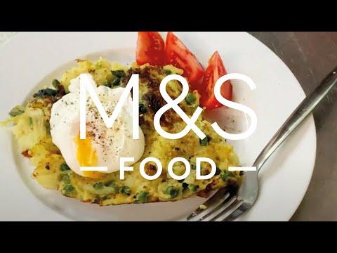 Chris' one pan veggie hash    M&S FOOD