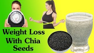 How To Lose 6 Kilos In 7 Days Naturally  - Powerful Chia Seeds Milkshake Recipe For Weight Loss