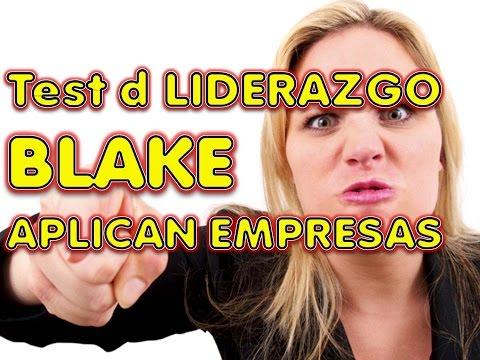 LIDERAZGO TEST REVELADO BLAKE MOUTON