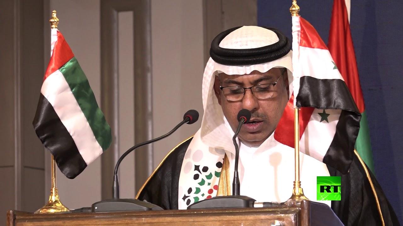 """Image result for القائم بالأعمال الإماراتي بدمشق، عبد الحكيم إبراهيم النعيمي"""""""