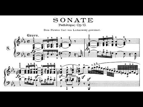 """Beethoven: Sonata No.8 in C Minor, Op.13, """"Pathétique"""" (Feltsman, Lortie, Korstick)"""