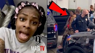 Jess Hilarious Reacts To Offset Being Pulled From His Car! 😱