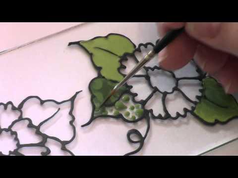 Basic Glass Outline & Color Application