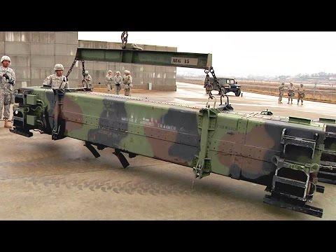 MIM-104 Patriot Missile Set Up At Osan Air Base
