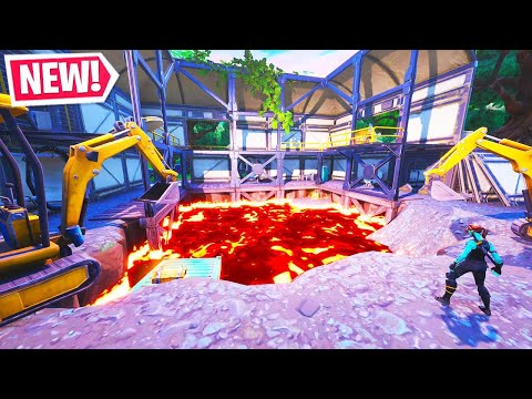 The New DUSTY DIVOT LAVA EVENT in Fortnite!