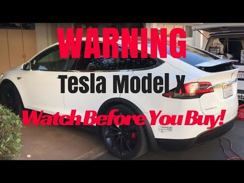 Tesla Model X: The video you must watch before you buy!