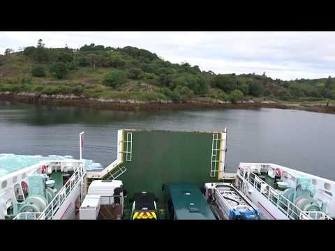 Leaving Stornoway onboard Caledonian MacBrayne MV Loch Seaforth