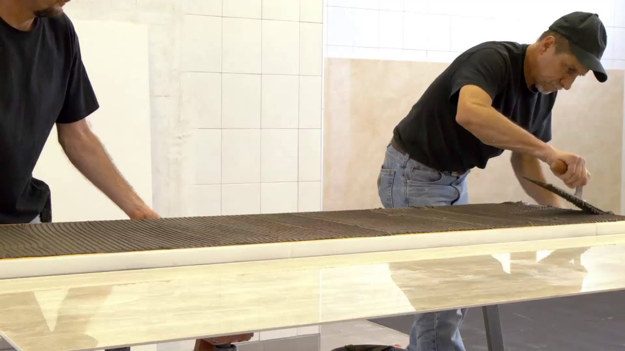 Stile Mitered Beveled Countertops   YouTube