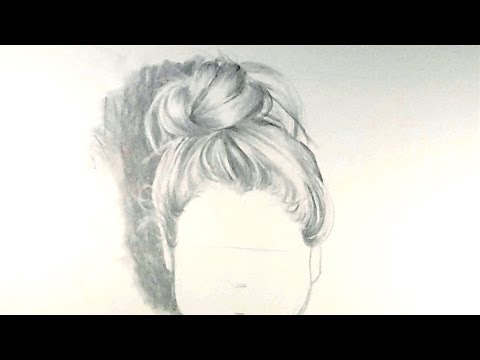 how-to-draw-hair-in-a-bun