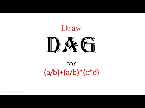 DAG(direct acyclic graph) in hindi