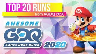 Top 20 AGDQ 2020 Runs (GDQ Highlights)