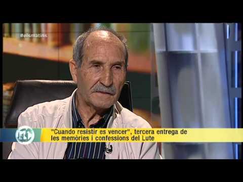 TV3 - Els Matins - 'El Lute' presenta 'Cuando resistir es vencer'