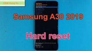 How To Hard Reset Samsung A30 Forgot Pin Code.