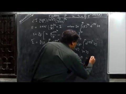 Derivation of Value of Beta in Maxwell-Boltzmann