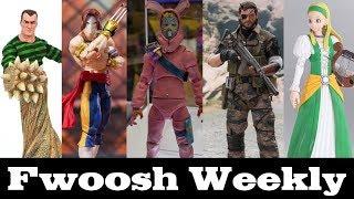Weekly! Ep100: Jazwares Fortnite, SHF Vega and Yoda, Sandman, Dragon Quest, Venom Snake and more!