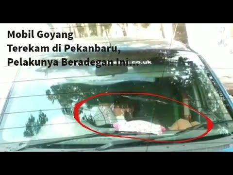 Viral Mobil Goyang Terekam di Pekanbaru