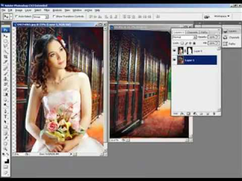 Thiet ke do hoa Hocphotoshop.com Huong dan tach nen den channels photoshop