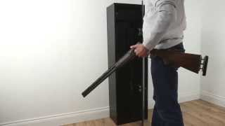 Lion Guard 10 Gun Cabinet With Locking Top