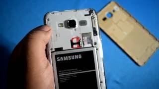 How to Insert Simcard and sd card in Samsung Galaxy J7 2015