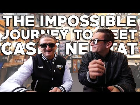 The Impossible Journey to Meet Casey Neistat