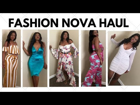 $800 FASHION NOVA HAUL! WAS IT WORTH THE MONEY? RIPPED DRESS & BROKEN ZIPPERS 😕