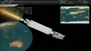Advanced Weather Satellite Separates from Launch Vehicle