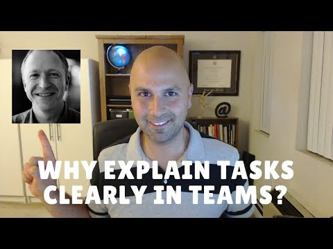 Why and How to Explain Tasks in Virtual Teams
